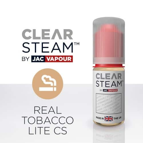 JAC Vapour E-Liquid Clear Steam