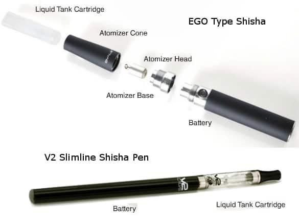 V2 Shisha Pen Express E-Cig Kit