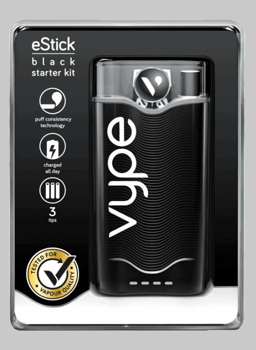 Vype eStick Starter Kit Pack Black