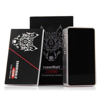 Snow Wolf 200W Box Mod Packaging
