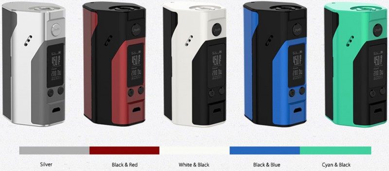 Reuleax Wismec RX200S Color Choice