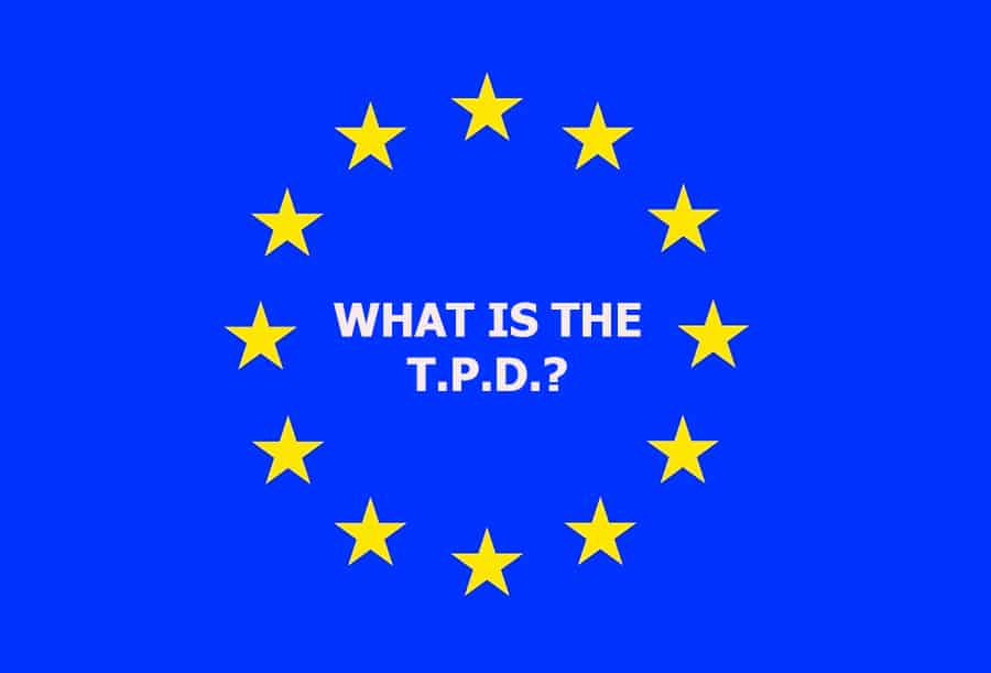 What is the T.P.D. or Tobacco Products Directive