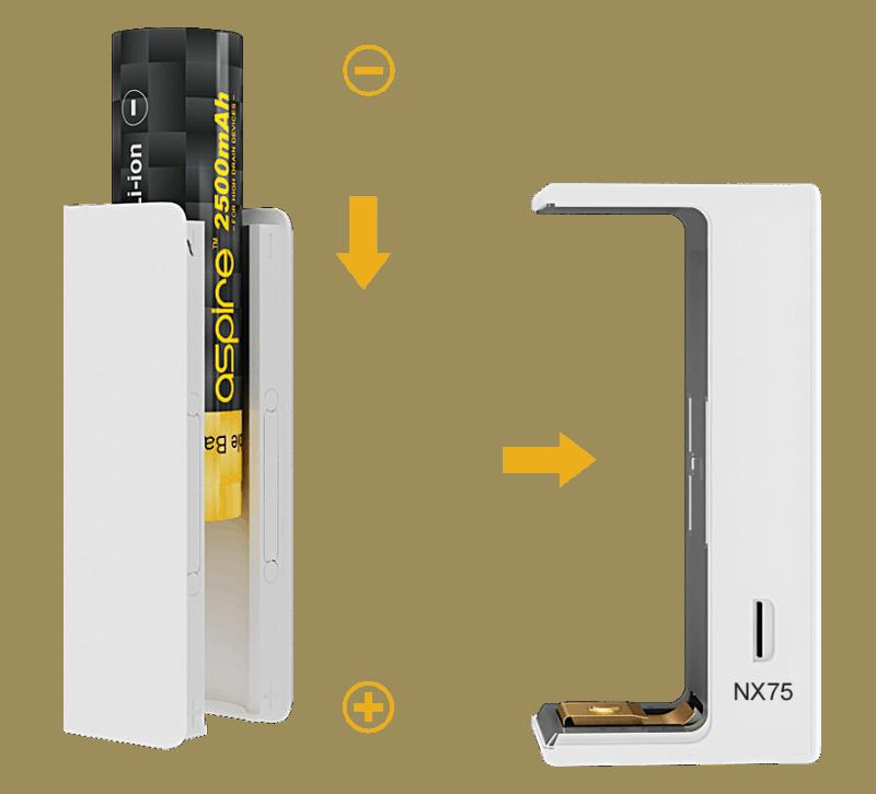 Aspire EVO75 Battery