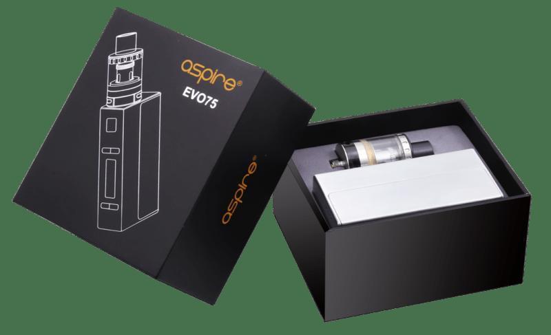 Aspire EVO75 Packaging
