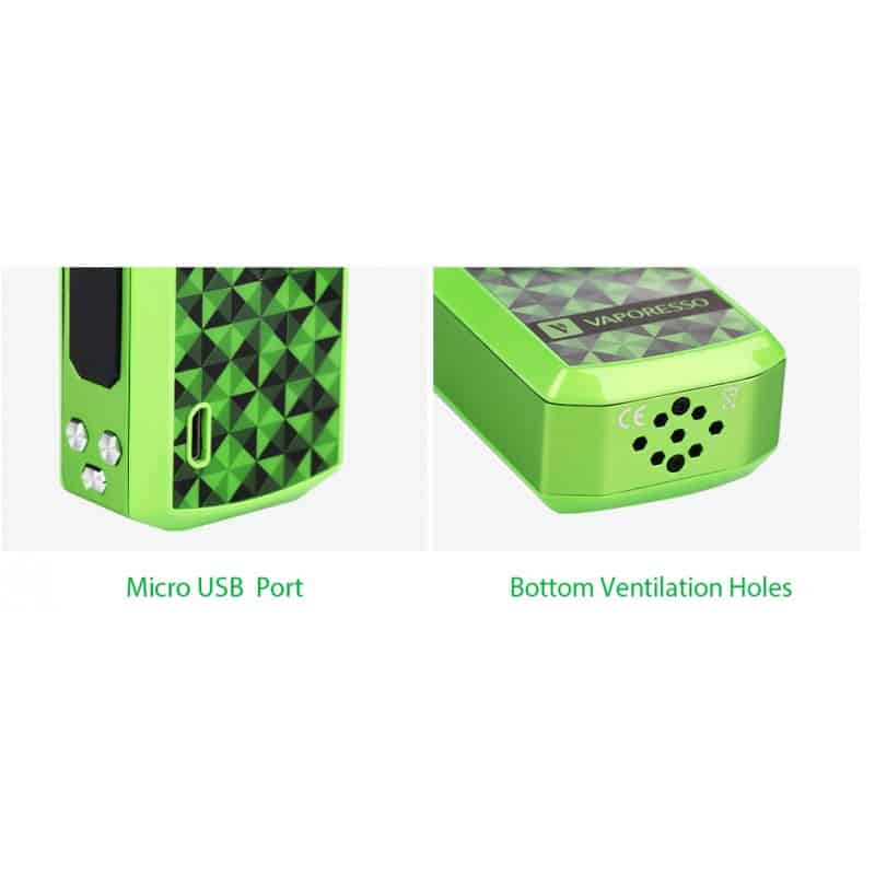 80W Vaporesso Tarot Nano TC USB Port
