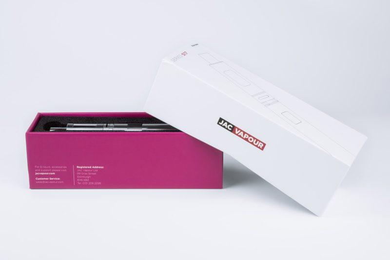 Jac Vapour Series S Packaging