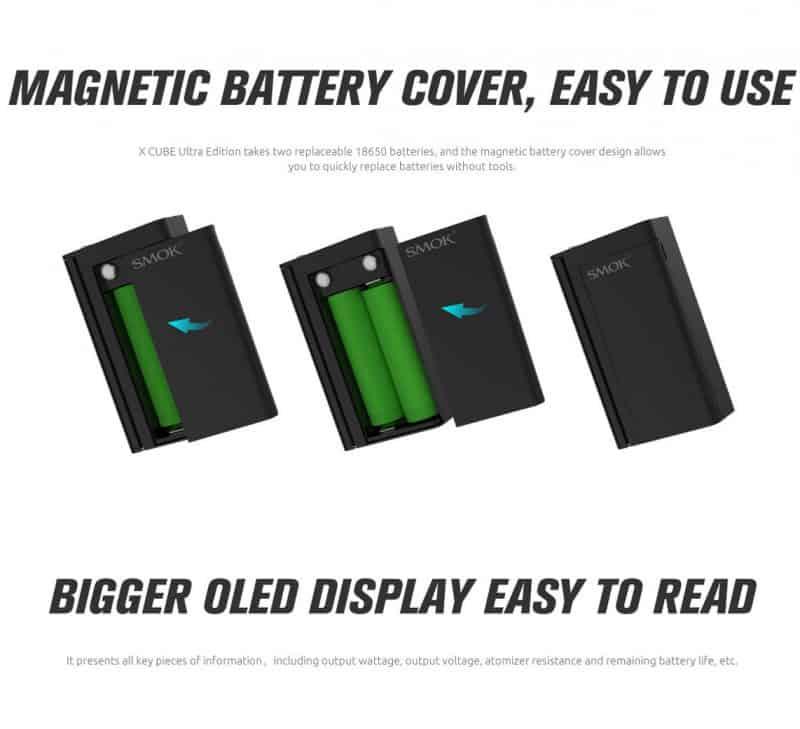SMOK 220W X CUBE ULTRA Battery