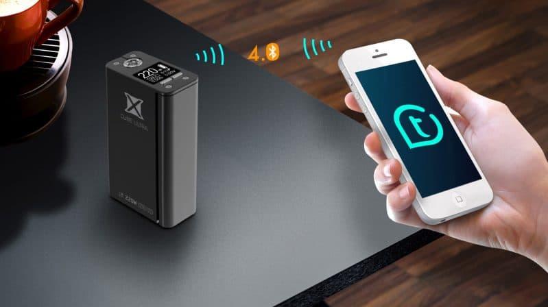 SMOK 220W X CUBE ULTRA Smart App
