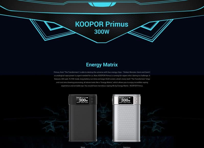 SMOK Kooper Primus
