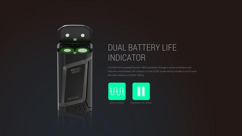 SMOK Alien Battery