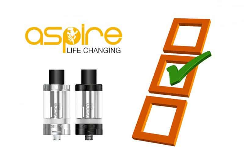 Which is the best Aspire tank