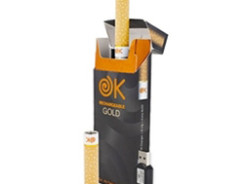 OKCigs Rechargable 120 Gold Starter Kit Review